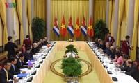Vietnamese, Cuban leaders underline flourishing bilateral cooperation