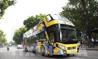 Hanoi opens second double-decker bus tour