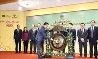 New Year securities trading session opens