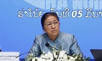 Lao National Assembly Chairwoman visits economic group model in Vietnam