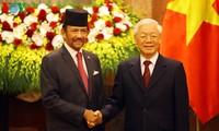 Joint statement on establishing Vietnam-Brunei comprehensive partnership
