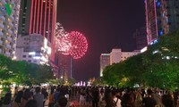 Vietnam marks Reunification Day with fireworks display