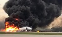 41 reported killed after Russian aircraft catches fire