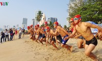 Search and rescue competition during Nha Trang Sea Festival