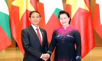 Top legislator meets with Myanmar President