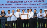 Vietnam protects biodiversity for sustainable development