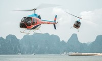 Helicopter – new way to cruise Ha Long Bay: CNN