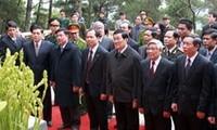 张晋创出席胡志明主席首次视察清化省65周年纪念仪式