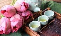 喷香的西湖莲花茶