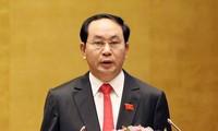 越南国家主席提请国会免去政府总理职务