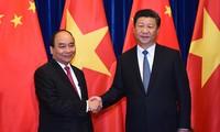 阮春福会见中共中央总书记、中国国家主席习近平