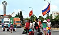 越南和柬埔寨举行情暖边疆友好交流活动