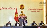 越南第14届国会常务委员会第9次会议开幕