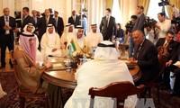 以外交手段缓和海湾地区的紧张局势
