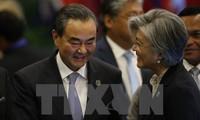 中韩努力改善双边关系