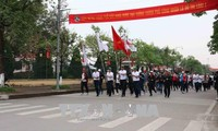 北宁省举行跑步比赛  响应2018年亚运会