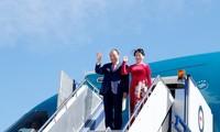 越南政府总理阮春福访问澳大利亚的正式欢迎仪式举行