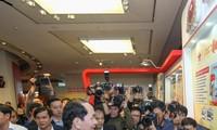 陈大光出席2018年全国报刊展闭幕式