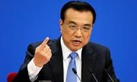 中国十三届全国人大一次会议:国务院总理李克强当选连任