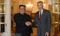 朝美领导人讨论新双边关系