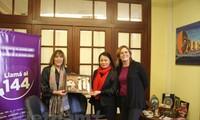 越南妇联代表团对阿根廷进行工作访问