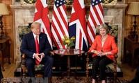英国与美国一致同意面向双边自贸协定