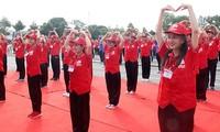 红十字志愿者与青年为社区而行动