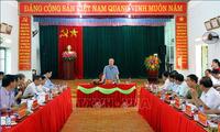 越共中央书记处常务书记陈国旺:太原省要做好党建工作和建设政治体系