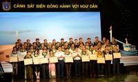 """越南海警司令部举行""""海警与渔民同行""""交流活动"""
