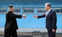 韩国呼吁举行第三次韩朝首脑会晤
