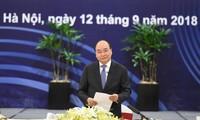 越南政府总理阮春福对世界大型集团承诺在越长期经营表示欢迎