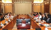 胡志明市承诺促进性别平等、保护妇女和女童