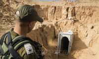 以色列摧毁加沙地带的哈马斯地道