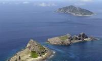 中国船只出现在与日本存在争议的群岛附近海域
