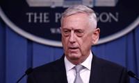美国国防部长希望与中国缓和紧张关系