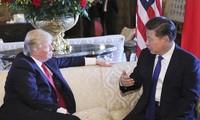 美中两国领导人就贸易问题通电话