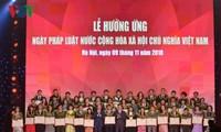 越南法律日有助于树立革新、融入国际和活跃的越南国家形象