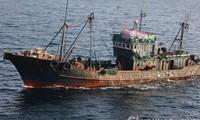 中国与韩国重启打击黄海海域非法捕捞的共同巡逻活动