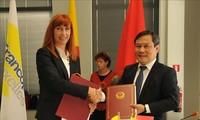 越南和比利时瓦隆-布鲁塞尔大区签署25个合作项目