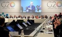20国集团峰会强调贸易自由的重要性