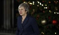 英国首相特雷莎·梅强调将在大选前辞职