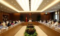 越南政府副总理武德担主持卫生部门交班会