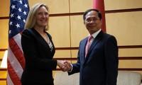 越美第十次政治、安全和防务对话举行