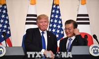 美韩政界为两国首脑会谈做积极准备