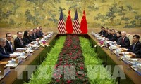 美中继续举行贸易谈判