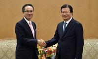 郑庭勇:鼓励日本企业合作推介越南产品