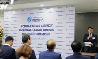 韩联社在河内举行东南亚总分社揭牌仪式