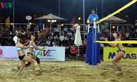 2019年亚洲女子沙滩排球赛在芹苴市开幕