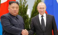 """俄朝首脑会晤:普京对于此次""""金普会""""取得的结果表示满意"""