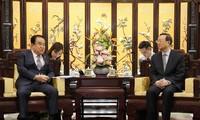 中韩就朝鲜半岛无核化加强沟通